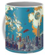 New York America  Skyline - Manhattan Coffee Mug