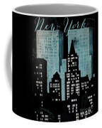 New York Art Deco Coffee Mug