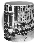 New York: Bank Run, 1930 Coffee Mug