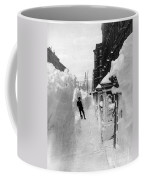 New York: Blizzard Of 1888 Coffee Mug