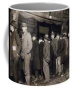 New York: Bread Line, 1907 Coffee Mug