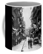 New York : Chinatown, 1909 Coffee Mug