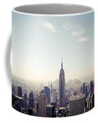 New York City - Empire State Building Panorama Coffee Mug