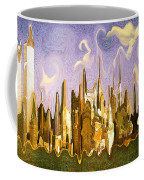 New York City 2200 - Modern Art Coffee Mug