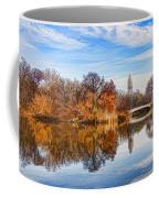 New York City Central Park Bow Bridge - Impressions Of Manhattan Coffee Mug