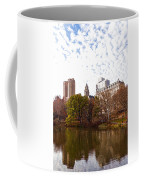 New York City Central Park Living - Impressions Of Manhattan Coffee Mug