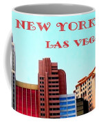 New York City- Las Vegas Coffee Mug