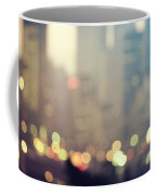 New York City Lights At Dusk Coffee Mug