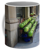 New York City Market Coffee Mug by Frank Romeo