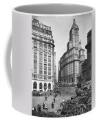 New York City Street Scene Coffee Mug