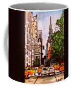 New York City Taxis Coffee Mug