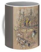 New York, Coney Island, C1906.  Coffee Mug
