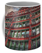 New York Fire Escapes Coffee Mug