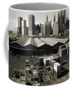 Old New York Harbor Skyline Coffee Mug