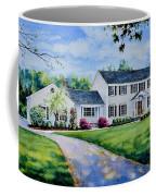 New York Home Portrait Coffee Mug