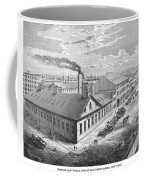 New York: Iron Works, 1876 Coffee Mug