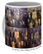 New York Mid Manhattan Medley - Photo Art Poster Coffee Mug