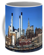 New York Mid Manhattan Skyline Coffee Mug