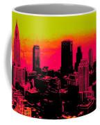 New York Pink Coffee Mug