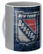 New York Rangers Barn Door Coffee Mug