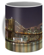 New York Skyline - Brooklyn Bridge - 6 Coffee Mug