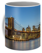 New York Skyline - Brooklyn Bridge Coffee Mug