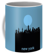 New York Skyline Minimalism 2 Coffee Mug