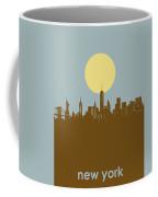 New York Skyline Minimalism 3 Coffee Mug