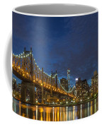 New York Skyline - Queensboro Bridge - 2 Coffee Mug