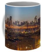 New York Skyline - Queensboro Bridge Coffee Mug