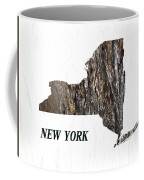 New York State Map Coffee Mug
