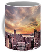 New York Sunset Coffee Mug