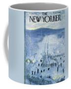 New Yorker February 18 1956 Coffee Mug