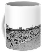 New Yorkers At Coney Island. Coffee Mug