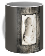 Newborn Baby In Crate Filtered Coffee Mug