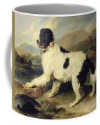 Newfoundland Dog Called Lion Coffee Mug by Sir Edwin Landseer