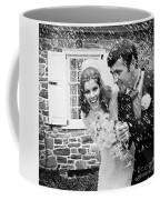 Newlyweds Showered With Rice, C.1960-70s Coffee Mug