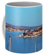 Newport Beach Harbor At Dusk Coffee Mug