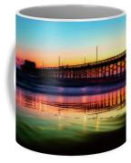 Newport Beach Pier At Sunrise Coffee Mug