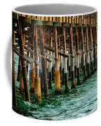 Newport Beach Pier Close Up Coffee Mug