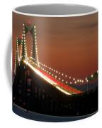 Newport Bridge Twilight Coffee Mug