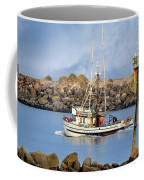 Newport Oregon - Coastal Fishing Coffee Mug