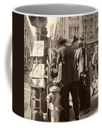 News Of The Attack On Pearl Harbor - San Francisco 8 Dec 1941 Coffee Mug