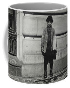 Newsboy, 1909 Coffee Mug
