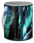 Neytiri - Gently Cross Your Eyes And Focus On The Middle Image Coffee Mug