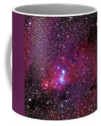 Ngc 2264 The Christmas Tree Cluster In Monoceros Coffee Mug