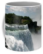 Niagara Falls American And Canadian Horseshoe Falls Coffee Mug