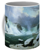 Niagara Falls Coffee Mug by Hippolyte Victor Valentin Sebron
