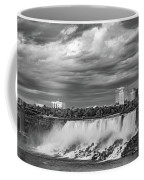 Niagara Falls - The American Side 3 Bw Coffee Mug