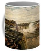 Niagara Falls With Rainbow, 1860 Coffee Mug